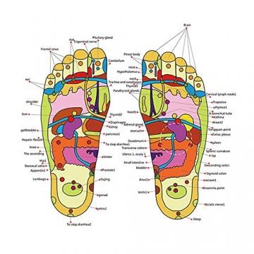 FOONEE Massaggio del Piede Tappetino per agopressione riflessologia Relaxer Massage Tools Sollievo dal Dolore Salute Scarpe, 42-43 - 6