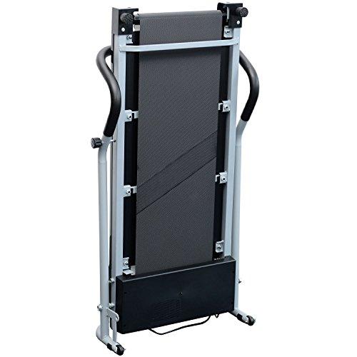 GO SPORT Tapis ROULANT Elettrico Pieghevole SALVASPAZIO Dispaly a LED 500 W / 2,5 HP Picco - Ideale per Allenamento A CASA - 1