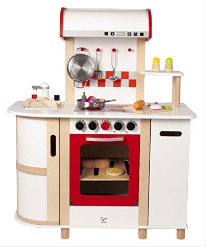 Hape E8018 - Cucina con Carrello, Multicolore - 1