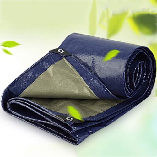 HHM Tarp da Campeggio, Teli in plastica per Coprire Il Sole e la Pioggia, Impermeabile, Resistente allo Strappo, Anti-invecchiamento, Anti-corrosione (Dimensioni : 2m×2m) - 1