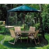 Hspoup Ombrello da Tavolo con Schermo, Adatto per Gazebo, ombrelloni,275cm*220cm - 1