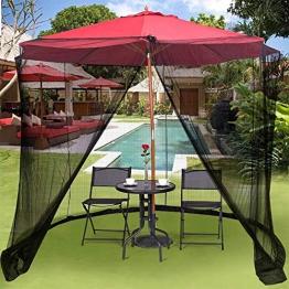 Hspoup Zanzariera per ombrelli,300cm*220cm - 1