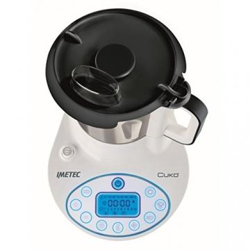 Imetec Cukò Robot da Cucina Multifunzione con Cottura, Multicooker con 3 Programmi Automatici per Risotti, Pasta e Vellutate, 10 Funzioni, 570 W, 4 Porzioni, con Ricettario - 2