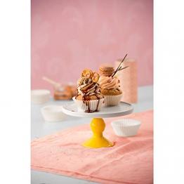 Kaiser 646275 Muffin World 200 pirottini di Carta per Muffin, 7 cm, Colore: Bianco - 1