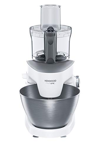 Kenwood KHH326WH Impastatrice Planetaria MultiOne, Acciao, 4.3 l, Bianco - 4