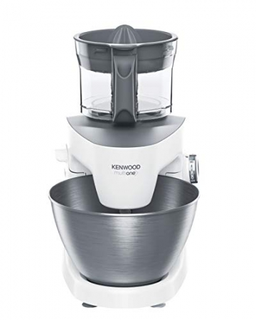 Kenwood KHH326WH Impastatrice Planetaria MultiOne, Acciao, 4.3 l, Bianco - 5