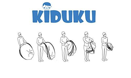 KIDUKU® Tenda Igloo per bambini con tunnel + borsa per interni ed esterni - Tenda da gioco per bambino - 1
