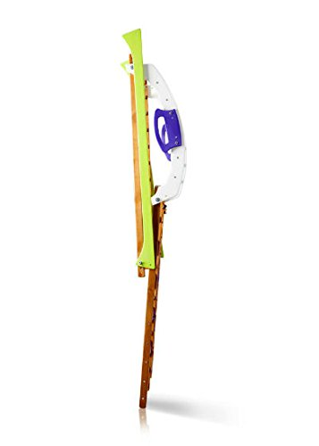 KindSport Arrampicata Attrezzature sportive per bambini ˝Babywood˝ Spalliera Parete palestra Figli Pagina parco giochi in legno con slittino - 1