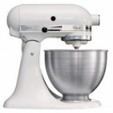 KitchenAid 5K45SSEWH Robot da Cucina Classic, 4.3 L - Bianco - 1