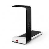 Klarfit Home Runtasy Tapis roulant Home Trainer LED Streaming wireless Bluetooth Pieghevole 1000W Archiviazione facile Arresto di emergenza Velocità regolabile 0,8-10 km/h Nero - 1