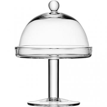 LSA International di Vienna 15 cm-Alzata per dolci con campana trasparente - 2
