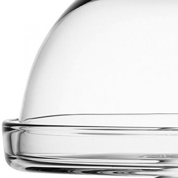 LSA International di Vienna 15 cm-Alzata per dolci con campana trasparente - 4