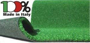Manto/Prato sintetico/Tappeto in erba sintetica 2 x 10m - 3