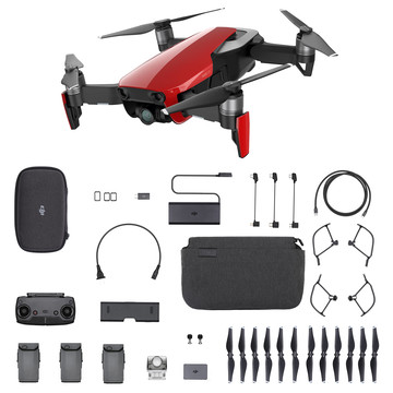 Mavic air flame red fly more combo