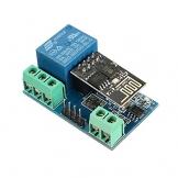 Modulo scheda relè ESP8266 WIFI 5V 10A controllo remoto tramite APP Android automazione smart home IOT domotica switch - 1