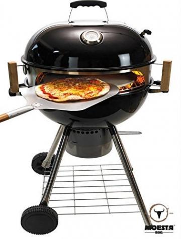 Moesta BBQ - Smokin 'Pizza Ring – Pacchetto Completo per Pizza - 3
