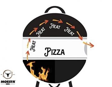 Moesta BBQ - Smokin 'Pizza Ring – Pacchetto Completo per Pizza - 6