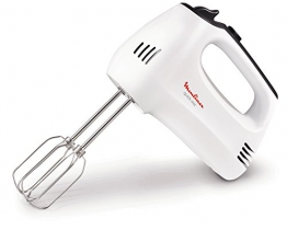 Moulinex HM3101 Quick Mix Sbattitore Elettrico con Fruste e Ganci Impastatori - 1