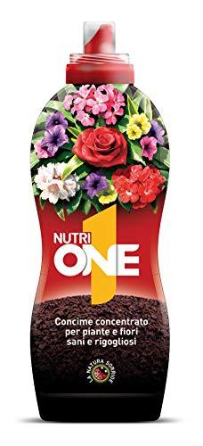 NUTRI 1 ONE One Concime concentrato per Piante e Fiori, 1 lt - 1