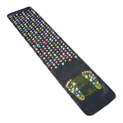 OUNONA Foot Massage Mat riflessologia Walk Stone Tappetino per agopressione 175x 35cm - 1