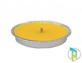 Palucart Candela citronella Giardino citronella Alluminio 14 cm Set da 50 Pezzi Giardinaggio antizanzare Feste ed Eventi - 1