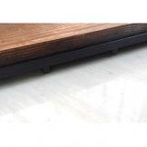 Pavimento in legno Pavimento pavimento balcone Terrazzo Arredo per esterni Pavimento impermeabile 30 * 30cm 10pic - 1