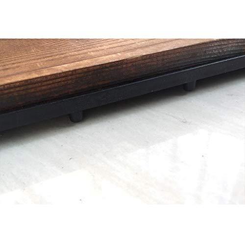 Pavimento in legno Pavimento pavimento balcone Terrazzo Arredo per esterni Pavimento impermeabile 30 * 30cm 10pic (Colore : A1) - 1