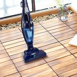 Pavimento in legno Pavimento pavimento balcone Terrazzo esterno Pavimento impermeabile per esterni Salotto decorativo Villa ecologica 30 * 30cm 10pic - 1