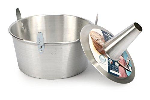 Pentalux 03927 - Bakery Line - Stampo torta in alluminio con cono estraibile, alluminio, Diametro 26 cm - 1