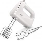 Philips Cucina HR3705/00 Sbattitore Elletrico,  Collezione Daily Bianco, 300 W - 1