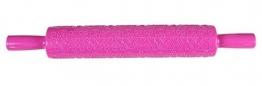 PICCOLI MONELLI Mattarello con Decorazioni Cuori e Rose mattarello Decorativo per Biscotti in plastica per Cake Design Visto in TV - 1
