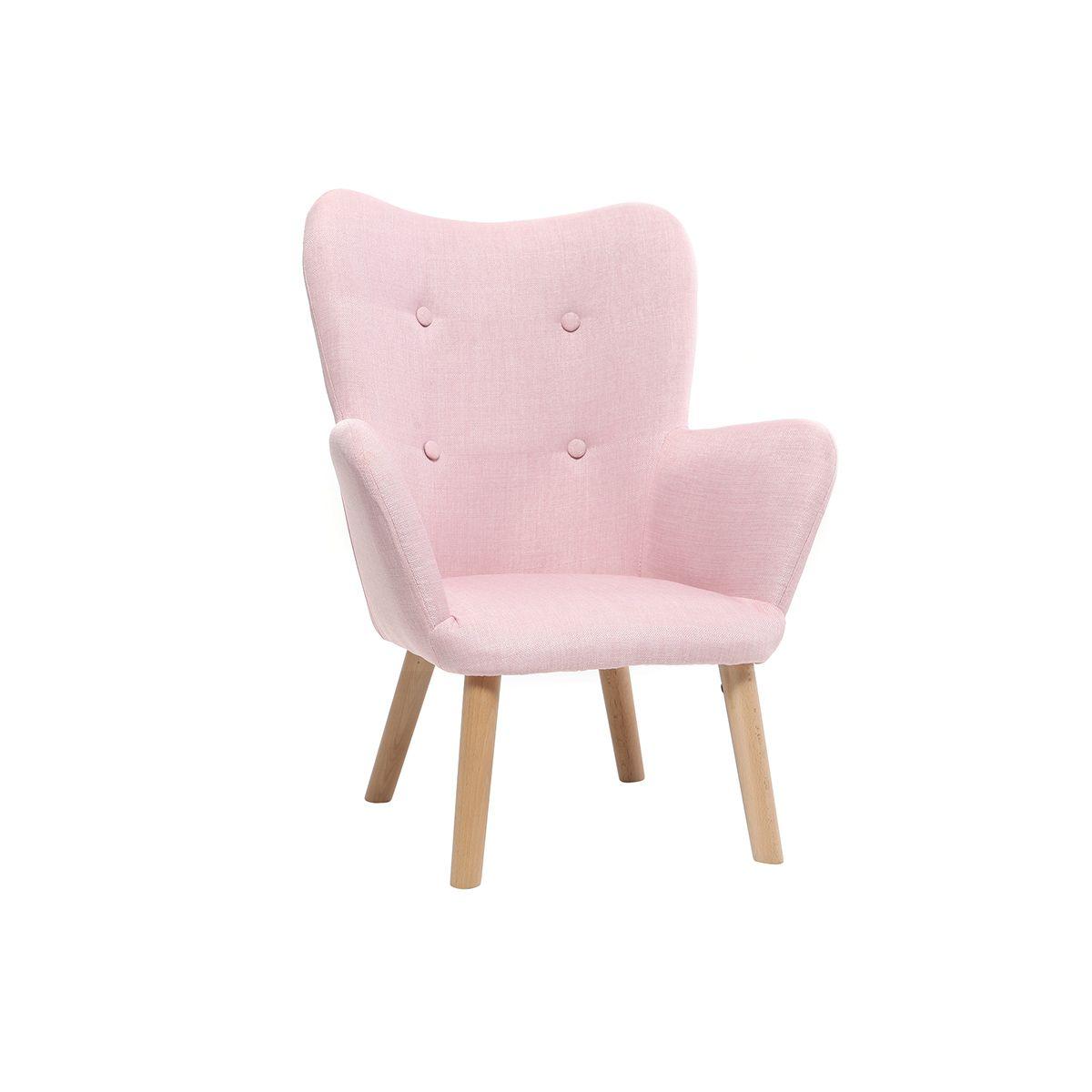 Poltrona bambino design rosa BABY BRISTOL Offerte e sconti