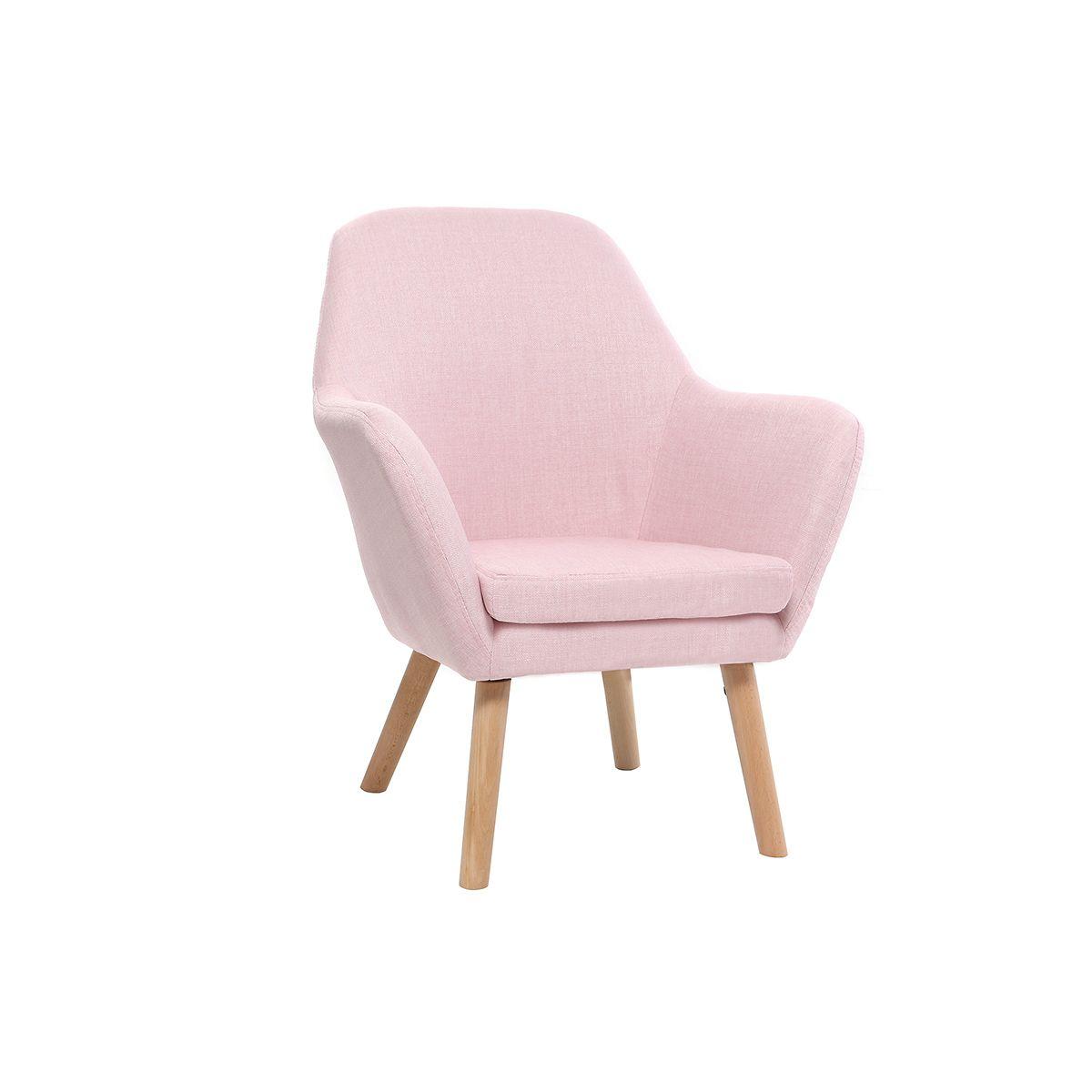 Poltrona bambino design rosa BABY MIRA Offerte e sconti
