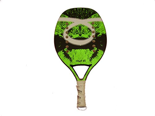 Racchetta Beach Tennis Racket Tom Caruso Hulk 45 Green Junior 2017 - 1