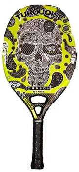 Racchetta Beach Tennis Turquoise BLACK DEATH CHALLENGE GREEN 2018 - 1