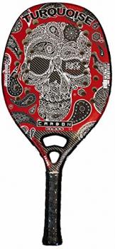 Racchetta Beach Tennis Turquoise BLACK DEATH CHALLENGE RED 2018 - 1