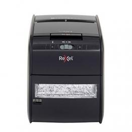 Rexel 2103060EU, Distruggidocumenti con  l'alimentazione automatica e Cestino da 15 l, 295 x 350 x 430 mm, Nero - 1