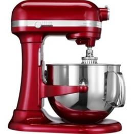 Robot da cucina artisan rosso mela metallizzato