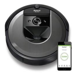 Roomba i7158 aspirapolvere robot senza sacchetto nero 0,4 l