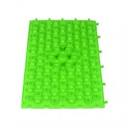 Rosenice piede massaggio tappetino per agopressione riflessologia circolazione del sangue (verde) - 1