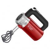 Russell Hobbs Retro Sbattitore Elettrico, 500 W, Acciaio Inox, Rosso - 1