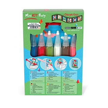 Sabbiarelli- Mini Kit Baby Gli Gnomi, 100MK0605 - 3