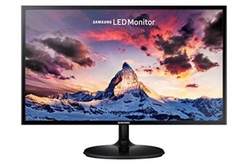 """Samsung S24F350 Monitor 24"""" Full HD, 1920 x 1080, 60 Hz, 5 ms, D-Sub, HDMI, Pannello PLS, Nero - 1"""