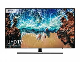 "Samsung UE49NU8000T 49"" 4K Ultra HD Smart TV Wi-Fi Nero, Argento - 1"