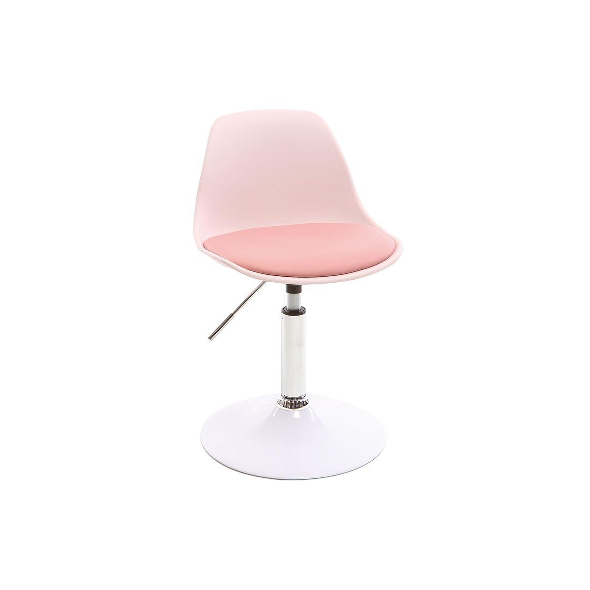 Sedia da ufficio design per bambino rosa STEEVY Offerte e sconti