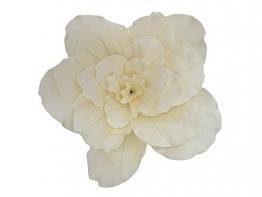 Set 2 x Fiore artificiale Camelia gigante MARLENE, bianco crema, 80cm - resistente alle intemperie - 2 pezzi di Fiore artificiale / Camelia decorativa- artplants - 1