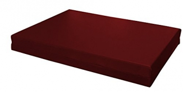 SET CUSCINI PER DIVANI PALLET BANCALI Seduta 120x80x15 cm + Schienale 120x39x11-19 cm - Ecopelle IDROREPELLENTE MARRONE - 2