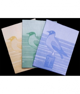 Set strofinacci da cucina stampati in spugna di pyro cotone - 50807.. Tessuto Cotone, Misura Set 6 pz