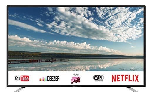 "Sharp AQUOS LC-40FI5442E Smart TV da 40"" Slim Full HD, suono Harman Kardon, SAT Internet WiFI Youtube Netflix 3xHDMI 2xUSB 1xVGA Hotel mode uscita cuffie scart - 1"
