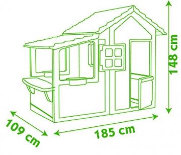 Smoby 7600310300 - Casa Neo Floralie - 5